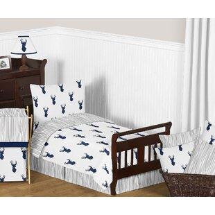 Woodland Deer 5 Piece Toddler Bedding Set bySweet Jojo Designs