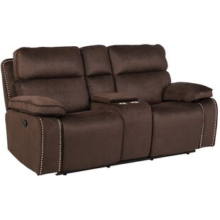 Halbert Reclining Loveseat Red Barrel Studio
