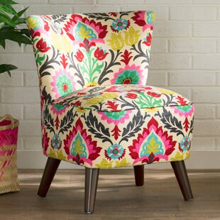 Bungalow Rose Crown Slipper Chair