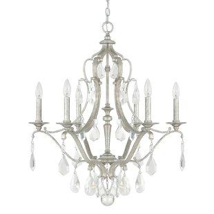 Willa Arlo Interiors Destrey 6-Light Chandelier
