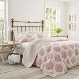 Coral Coast Reversible Quilt Set by Laura Ashley Home by Laura Ashley