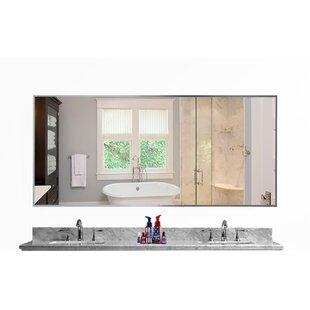 Orren Ellis Romeo Sheen Bathroom/Vanity Mirror