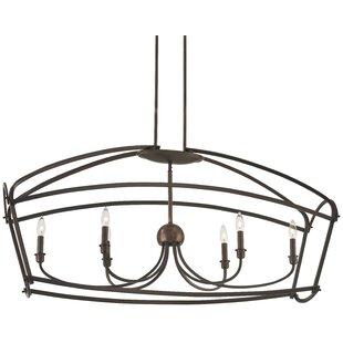 Gracie Oaks Maughan 6-Light Lantern Pendant