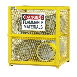 35 H x 30 W x 30 D Horizontal Cylinder Storage Cabinet by Durham Manufacturing