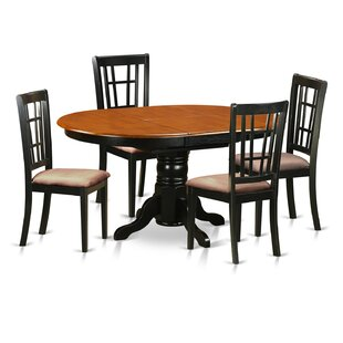 5 Piece Extendable Dining Set by East Wes..