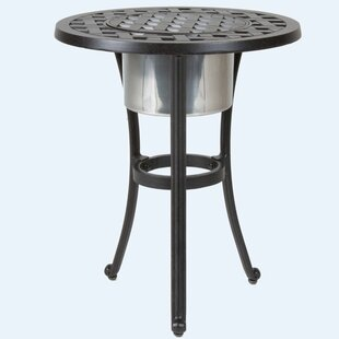 Gadson Round Ice Aluminum Side Table