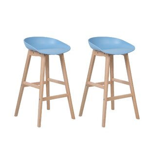 Benjamin 85cm Bar Stool (Set Of 2) By Isabelline