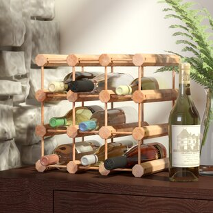 Kitterman 12 Bottle Floor Wine Rack by Zi..