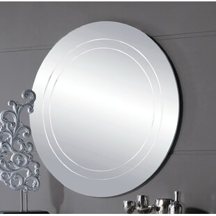 Orren Ellis Jacquelyn Circle Accent Mirror