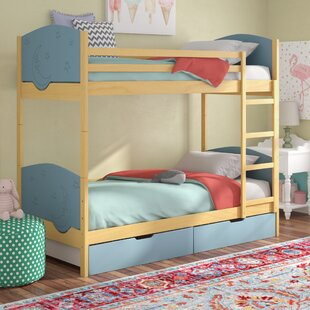 Foye Bunk Toddler Bed with Drawers