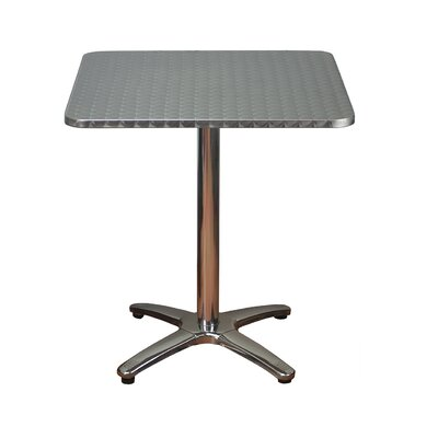 Square Aluminum Dining Table by DHC Furniture Best Choices