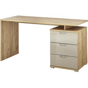 Schreibtisch Toboali mit 3 Schubladen von dCor design