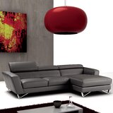 Downingtown Leather 102 Sectional by Wade Logan®