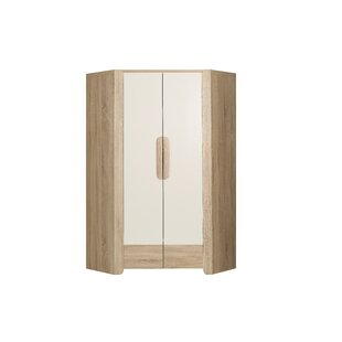 Jann 2 Door Corner Wardrobe By Ebern Designs
