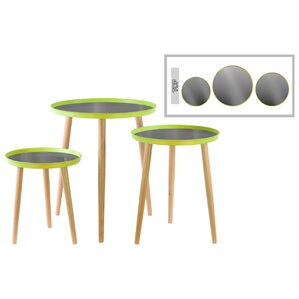 Urban Trends 3 Piece End Table Set