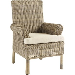 Enrico Patio Dining Chair with Cushion