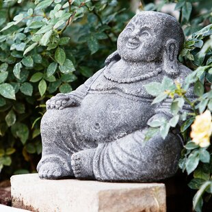 Laughing Buddha Statue By Garden Age