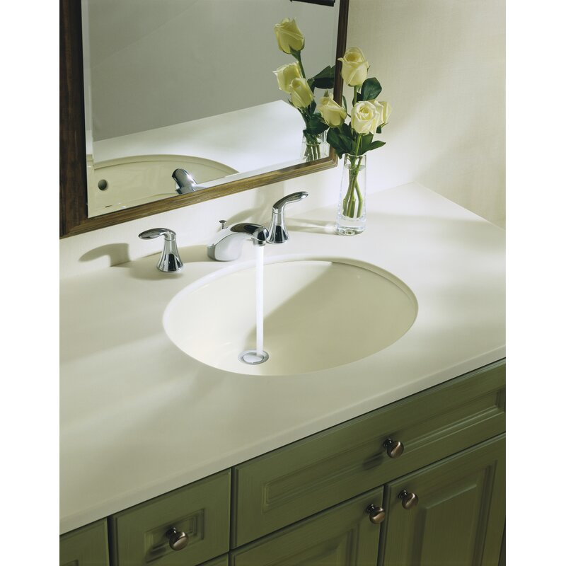 K-2210-0,33,47 Kohler Caxton Ceramic Oval Undermount Bathroom Sink ...