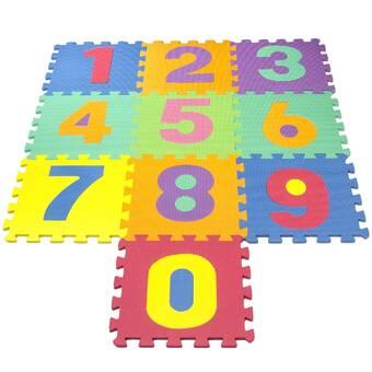 Matney Puzzle Interlocking Foam Playmat Reviews Wayfair