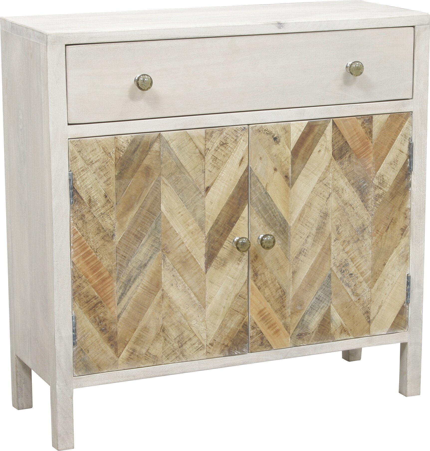 August Grove Islemade 1 Drawer 2 Door Accent Cabinet | Wayfair