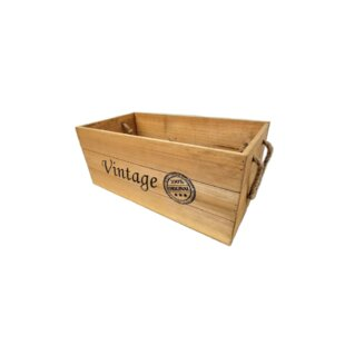 Vintage Wooden Crates Wayfair
