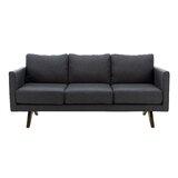Frasier 70.08 Recessed Arm Sofa Bed by Corrigan Studio®