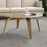 Clementon Coffee Table with Tray Top by AllModern