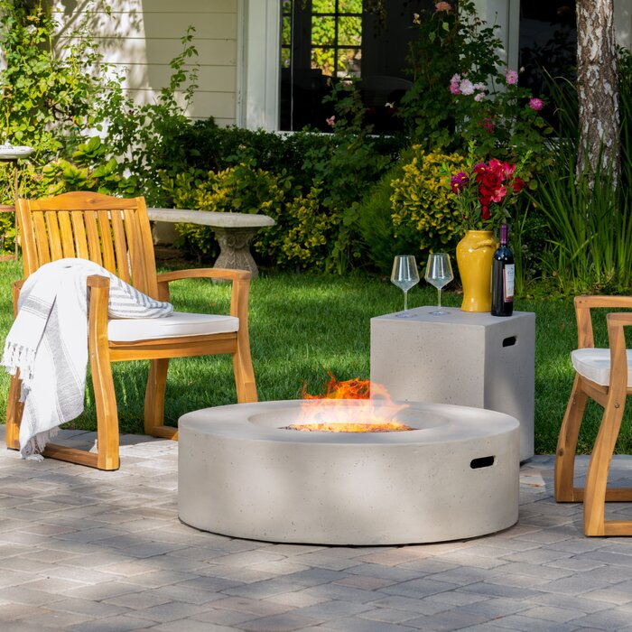 Olivet Propane Fire Pit Table