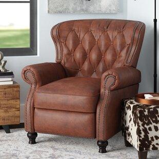 Tremendous Lenihan Leather Manual Recliner Cjindustries Chair Design For Home Cjindustriesco
