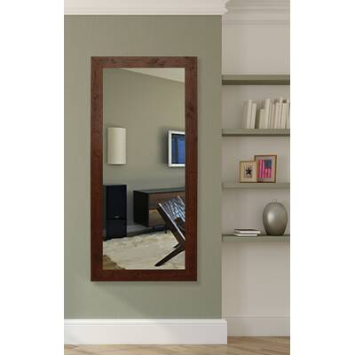 Loon Peak Fumeterre Rustic Full Length Mirror Reviews Wayfair