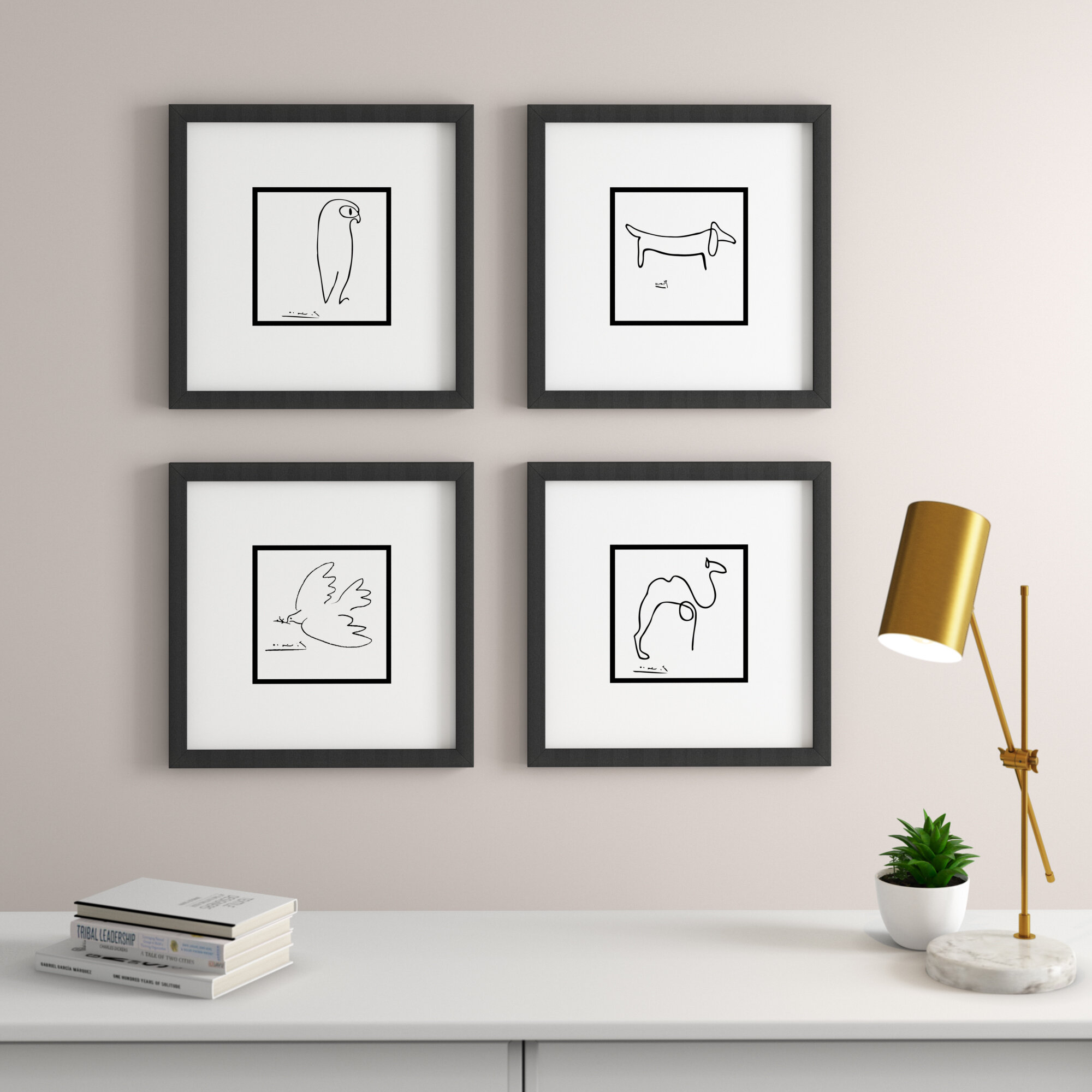 Framed Art Print By Pablo Picasso Picture Frame Print On Paper Reviews Allmodern