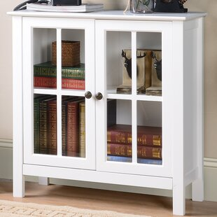 Glass 2 Door Accent Cabinet by OS Home & Office Furniture