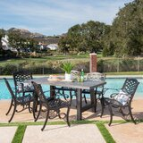 Desmond Outdoor 7 Piece Dining Set