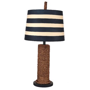 Elida Rope Spindle 27 Table Lamp