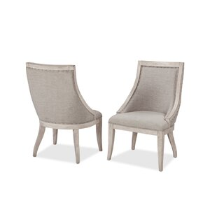 Panama Jack Home Graphite Upholstered Dining Chair (Set of 2)