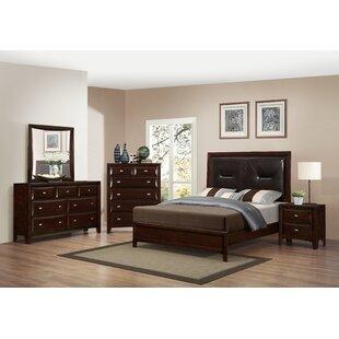 Roundhill Furniture Mateo Platform Configurable Bedroom Set
