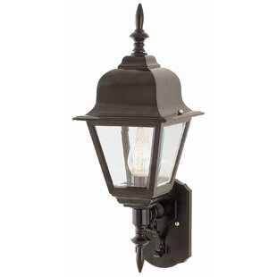Read Reviews Lyndon 1-Light Outdoor Sconce By Charlton Home