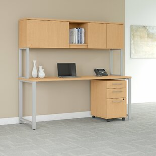 400 Series 3 Piece Desk Office Suite by Bush Business Furniture Amazing