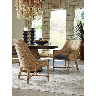 Tommy Bahama Home Los Altos Keeling Woven Dining Chair