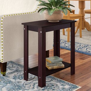 Phillippi Wooden End Table