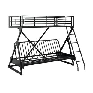 Best Petrey Twin Over Full Futon Bunk Bed by Zoomie Kids Reviews (2019) & Buyer's Guide