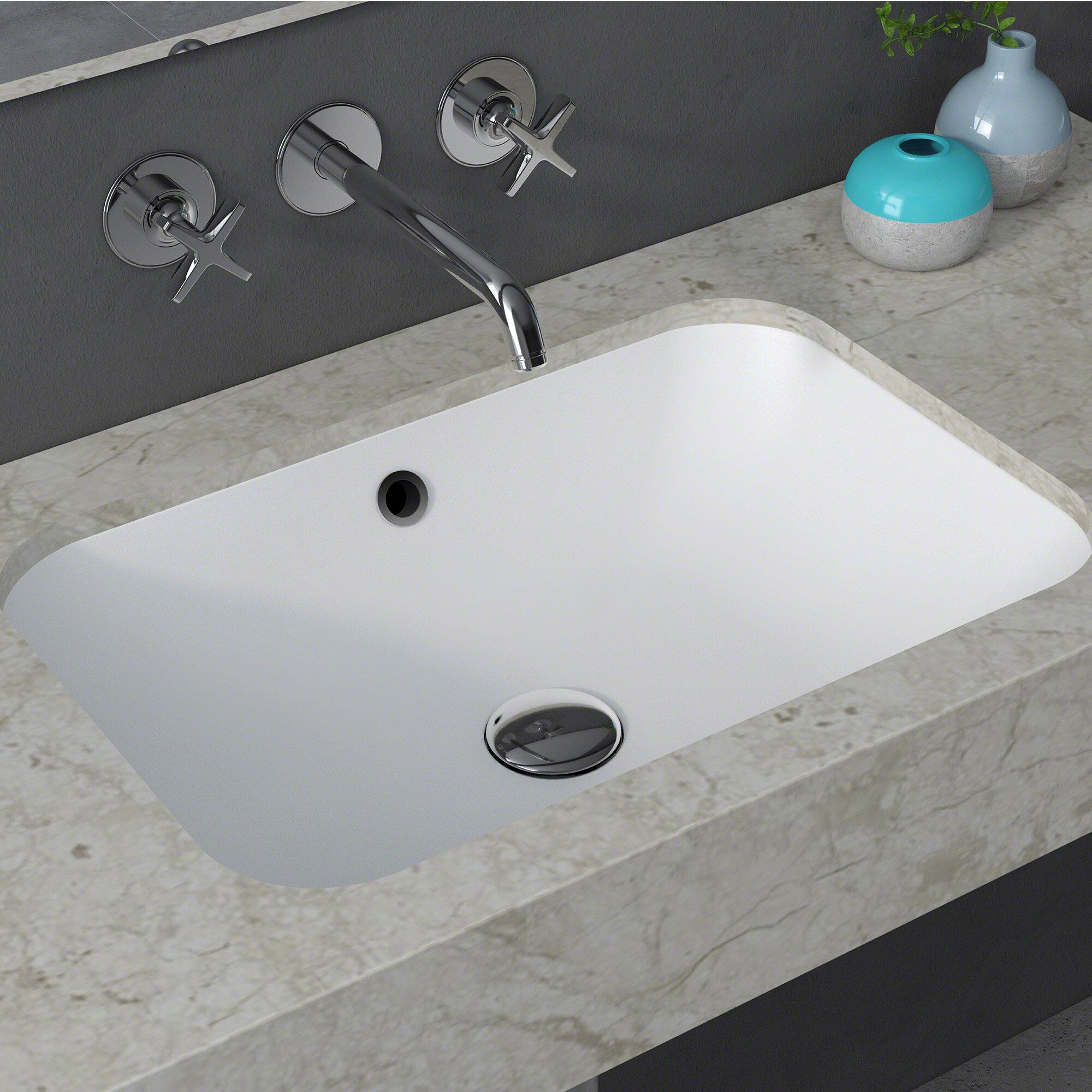 unique small bathroom undermount rectangular sink square