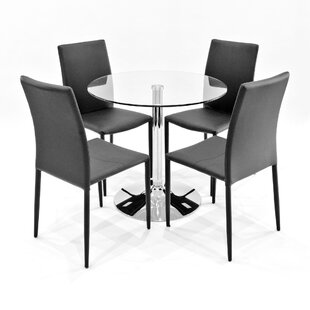 Angelo Dining Set With 2 Chairs By Metro Lane