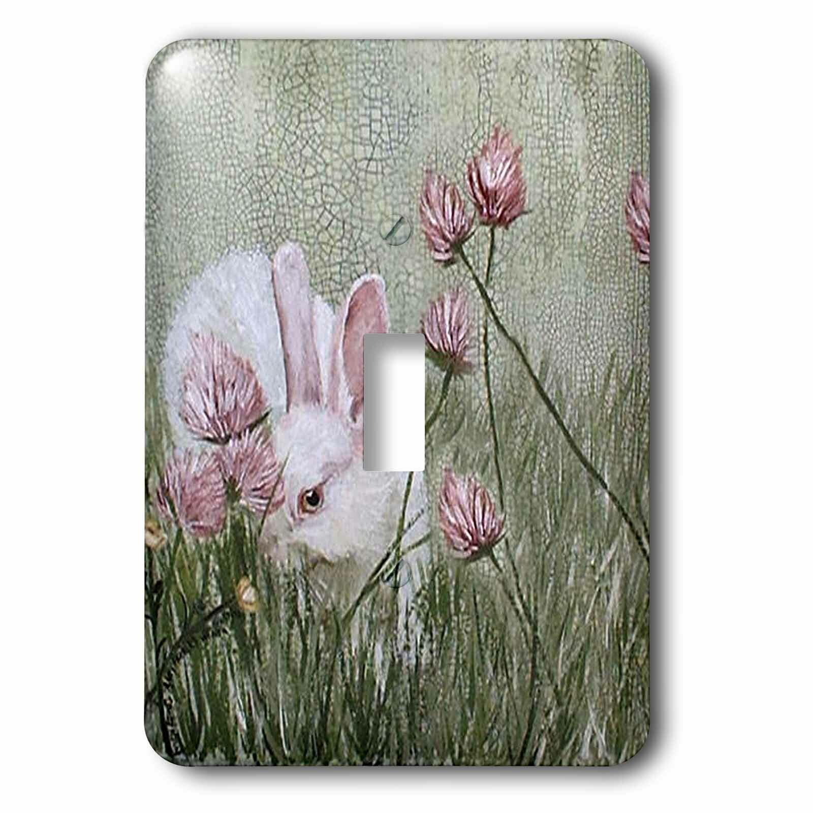 3drose Bunny Rabbit In Grass 1 Gang Toggle Light Switch Wall Plate Wayfair