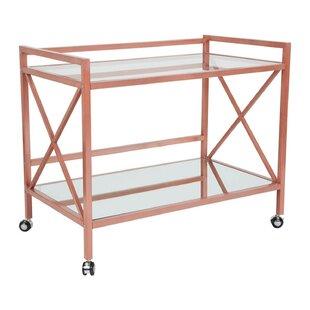 New Fairfield Bar Cart by Brayden Studio