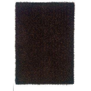 Reviews Hand-Tufted Black Area Rug ByThe Conestoga Trading Co.