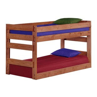 Chumley Jr. Twin Over Twin Bunk Bed by Harriet Bee Bargain