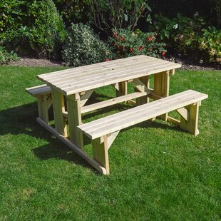 Tinwell Picnic Table By Sol 72 Outdoor