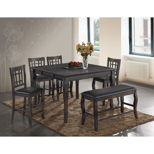 Betty 6 Piece Extendable Dining Set by Be..