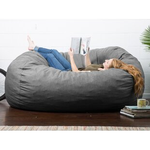 Brilliant Big Joe Lux Extra Large Bean Bag Sofa Inzonedesignstudio Interior Chair Design Inzonedesignstudiocom